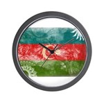 Azerbaijan Flag Wall Clock