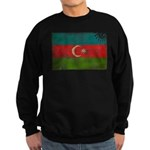 Azerbaijan Flag Sweatshirt (dark)