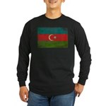 Azerbaijan Flag Long Sleeve Dark T-Shirt