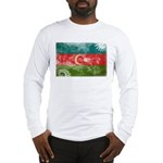 Azerbaijan Flag Long Sleeve T-Shirt