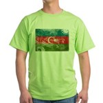 Azerbaijan Flag Green T-Shirt