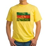 Azerbaijan Flag Yellow T-Shirt