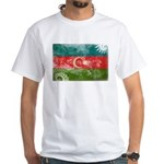 Azerbaijan Flag White T-Shirt