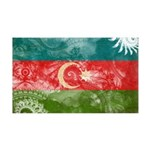Azerbaijan Flag 38.5 x 24.5 Wall Peel