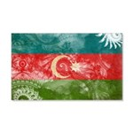 Azerbaijan Flag 22x14 Wall Peel