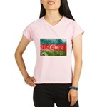 Azerbaijan Flag Performance Dry T-Shirt
