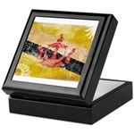 Brunei Flag Keepsake Box