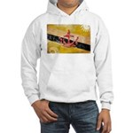 Brunei Flag Hooded Sweatshirt
