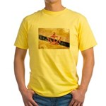 Brunei Flag Yellow T-Shirt