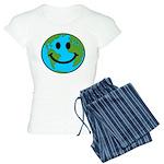 Smiling Earth Smiley Women's Light Pajamas