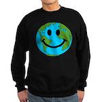 Smiling Earth Smiley Sweatshirt (dark)