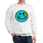 Smiling Earth Smiley Sweatshirt