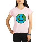 Smiling Earth Smiley Performance Dry T-Shirt