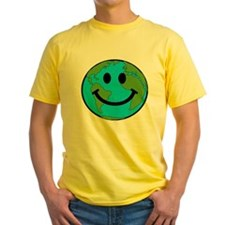 Smiling Earth Smiley T