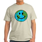 Smiling Earth Smiley Light T-Shirt