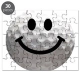 Golf Ball Smiley Puzzle