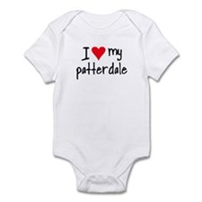 I LOVE MY Patterdale Infant Bodysuit
