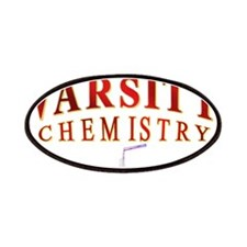 Varsity Chemistry in red Patches