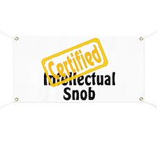 Intellectual Snob Banner