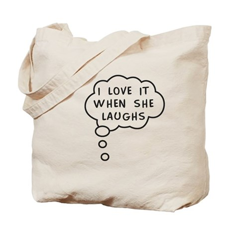 Mommy's Laugh Tote Bag