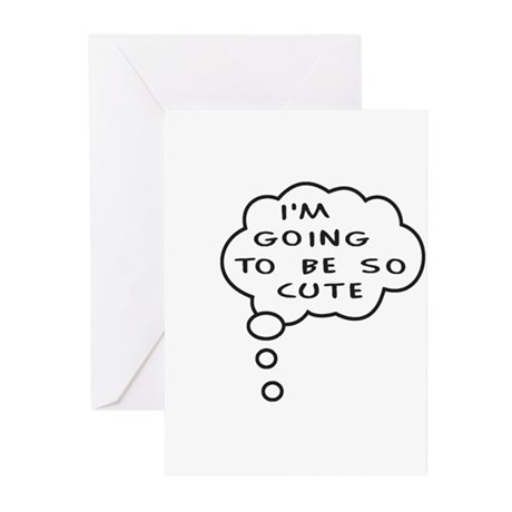 So Cute Greeting Cards (Pk of 10)