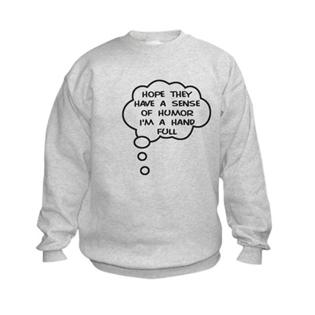 Future Hand Full Kids Sweatshirt