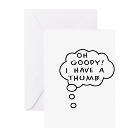 A Thumb Greeting Cards (Pk of 10)