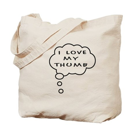 Thumb Love Tote Bag