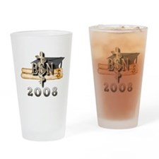 BSN Grad 2008 Drinking Glass