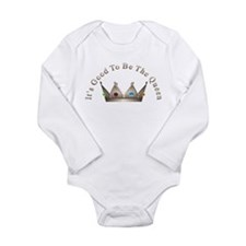 Good to be Queen Long Sleeve Infant Bodysuit