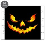 Halloween Pumpkin Face Puzzle