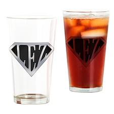 Super Lez Drinking Glass