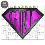 Leather Girl(Black/Pink) Puzzle