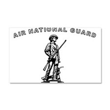 Air National Guard Car Magnet 20 x 12