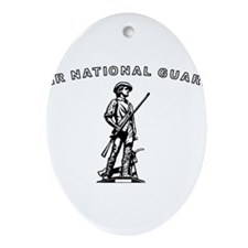 Air National Guard Ornament (Oval)