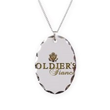 Soldier's Fiancee Necklace Oval Charm