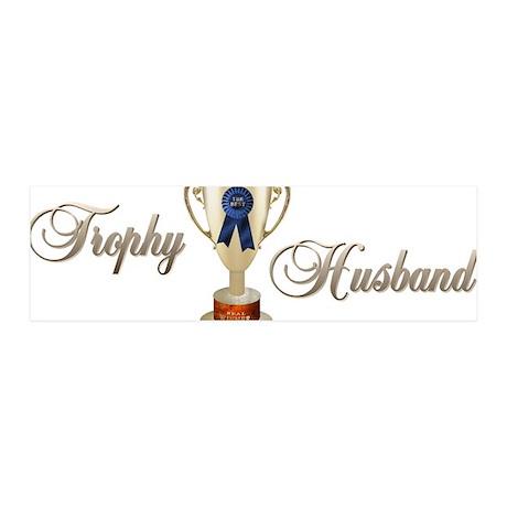 Trophy Husband 42x14 Wall Peel
