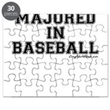Majored In Baseball Puzzle