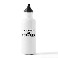 Majored In Storytime Water Bottle