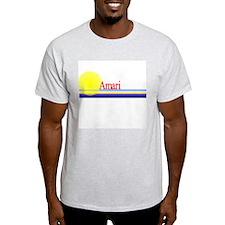 Amari Ash Grey T-Shirt