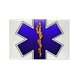 Star of Life(EMS) Rectangle Magnet (100 pack)