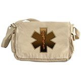 Star of Life(Browns) Messenger Bag