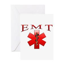 EMT(Red) Greeting Card