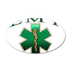 EMT(Emerald) 22x14 Oval Wall Peel