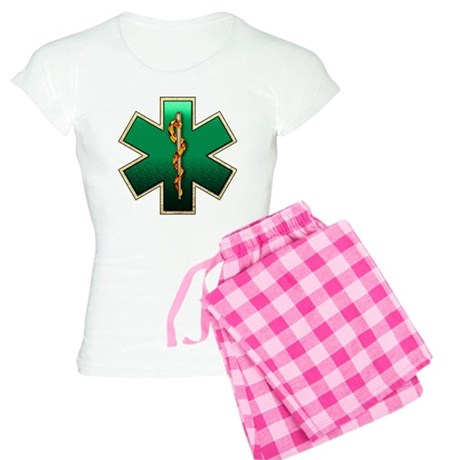 Star of Life(Emerald) Women's Light Pajamas