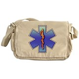 Star of Life Messenger Bag
