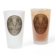 RN Caduceus Gold Drinking Glass