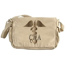 CNA Caduceus Messenger Bag