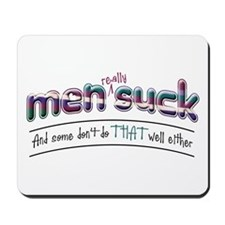 Men Suck Mousepad