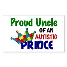 Proud Of My Autistic Prince Decal